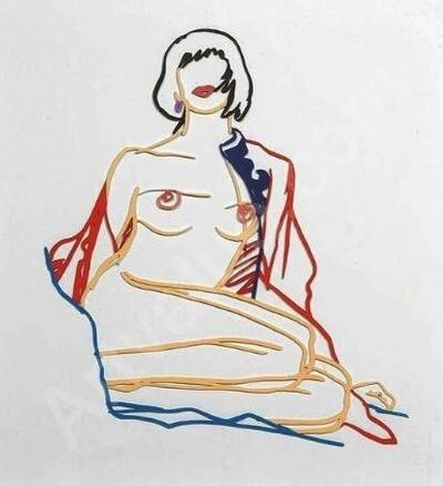 Tom Wesselmann, 'Monica Sitting Undressing', 1986