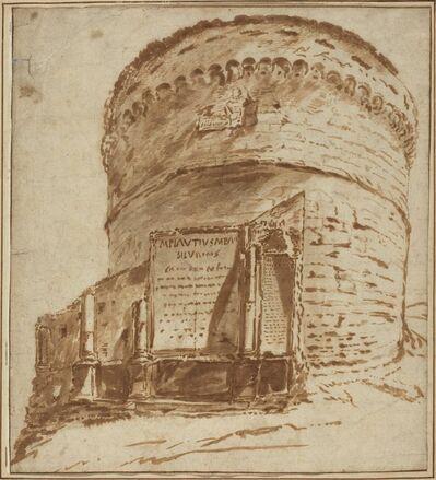 Bartholomeus Breenbergh, 'Tomb of Plautius'