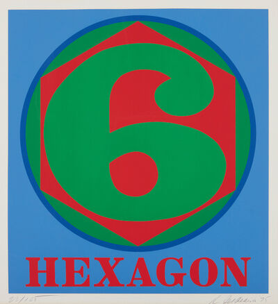 Robert Indiana, 'Hexagon, from Polygons', 1975