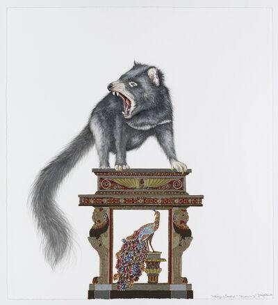 Raqib Shaw, 'Whimsy Beasties...Tashound II', 2012