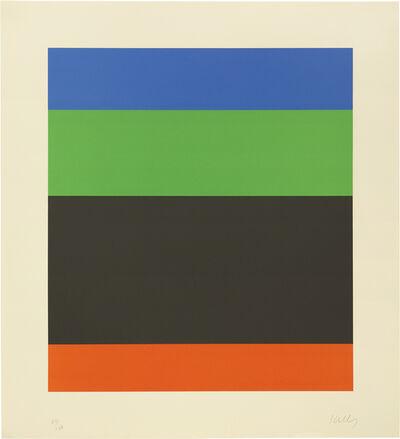 Ellsworth Kelly, 'Blue Green Black Red', 1971