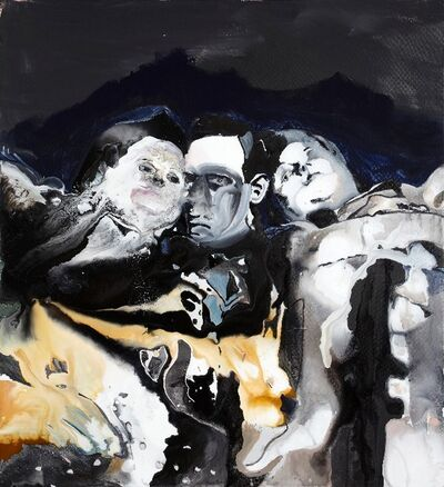Maya Bloch, 'Untitled (3 Figures)', 2011