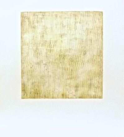 Rakuko Naito, 'RN730.1/2-00 Wax on Paper Scratch Lines', 2000