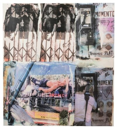 Robert Rauschenberg, 'Los Angeles Revisited #4', 1998