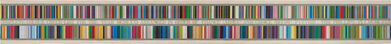 Tom Phillips, 'COMPLETE COLOUR CHECK FOR THE YEAR MCMLXXI ARRANGED IN ORDER OF CHANGE (ABOVE) AND CHOICE (BELOW)', 1971