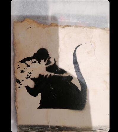 Banksy, 'Sword Rat aka Lock Pick Rat from Brighton.', ca. 2003