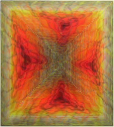 Andrew Schoultz, 'Process of Calm (Like the Sun)', 2020