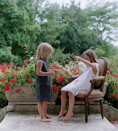 Neil Folberg, 'Little girls playing in Morisot's yard', 2003