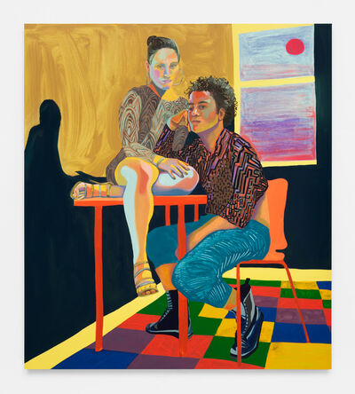 Aliza Nisenbaum, 'Ximena and Randy, Sunrise', 2018