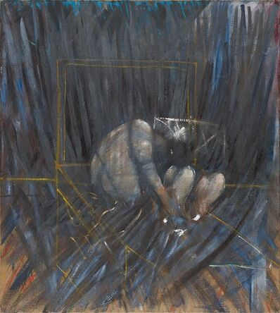 Francis Bacon, 'Figures in a Landscape'