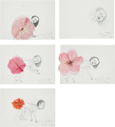 Kiki Smith, 'Untitled (Flower Farts)', 2004