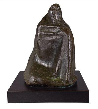 Francisco Zúñiga, 'Mujer Sentada con Rebozo', 1973