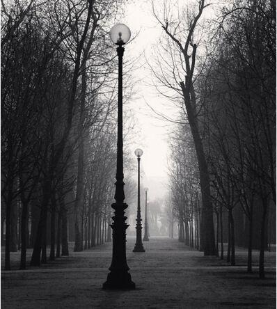 Michael Kenna, 'Tuileries Gardens, Study 4, Paris, France', 1987