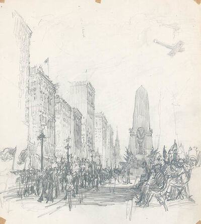 Henry M. O'Connor, 'Victory Parade After World War I, Indianapolis [Indiana]', 1919