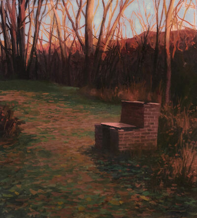 Scott Prior, 'Old Barbecue in Autumn', 2019