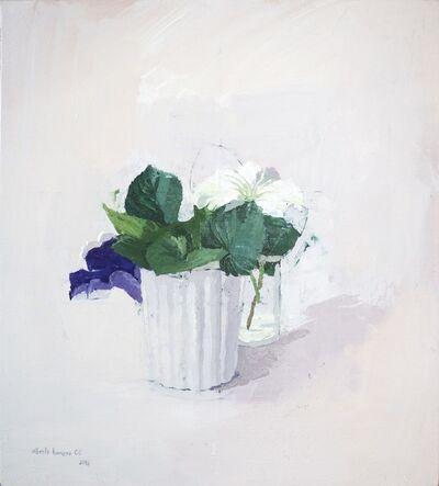 Alberto Romero, 'Realism - flower still life - Oil on panel - flowers 2018', 2018
