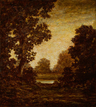 Ralph Albert Blakelock, 'Night Glow', Late 19th century