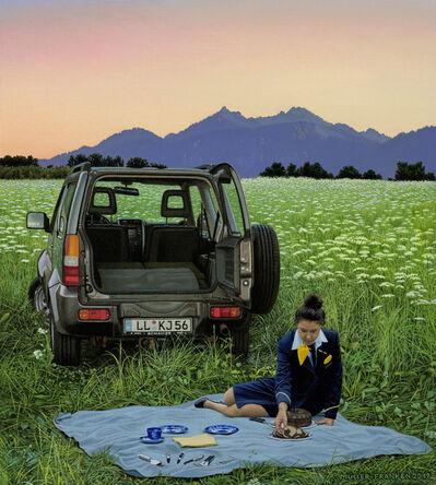 Johannes Mueller-Franken, 'Blaues Land', 2019
