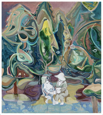 Guo Hongwei 郭鸿蔚, 'Spring Conversation', 2020