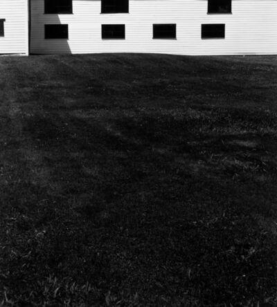 Arnold Newman, 'New England Barns', 1983
