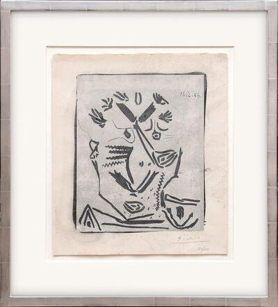Pablo Picasso, ' Portrait d'homme, from Notre Dame de Vie.', 1966