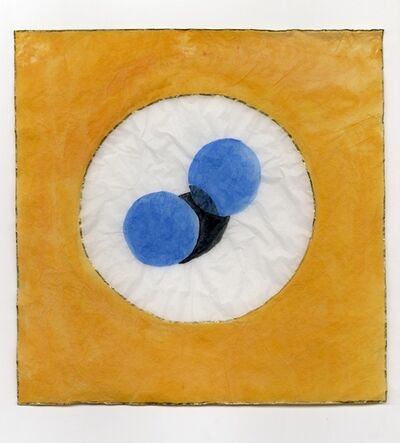 Toby Christian, 'Two blue oranges', 2012