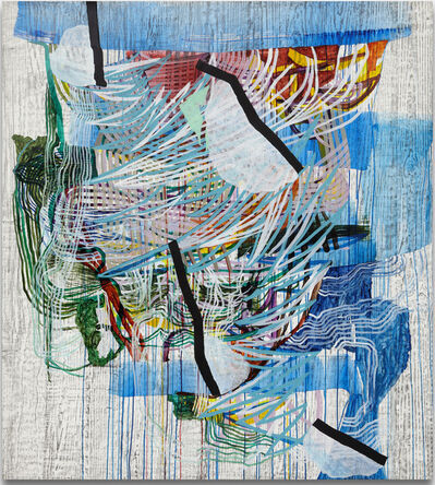 Alyse Rosner, 'Verge (blue)', 2013