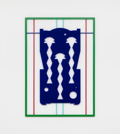 Raúl Díaz Reyes, 'blue (vertigo)', 2019