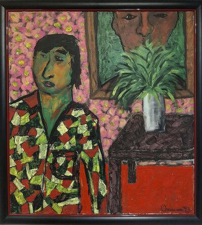 Fadi El Chaama, 'Self Portraits', 1993