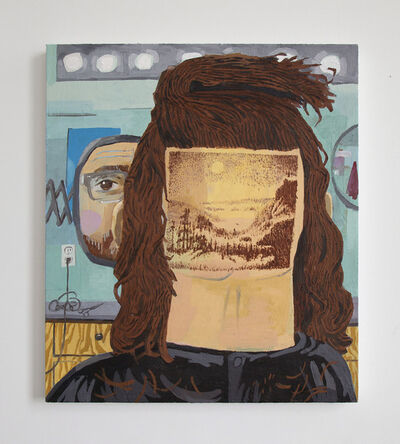 Paul Gagner, 'Hairscaping', 2015