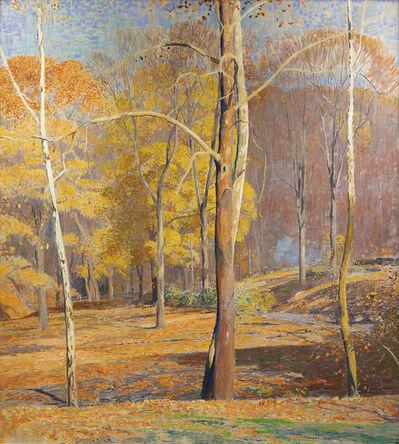 Daniel Garber, 'Burning Leaves', ca. 1940s