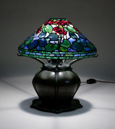 Tiffany Studios, 'Geranium Table Lamp', ca. 1904