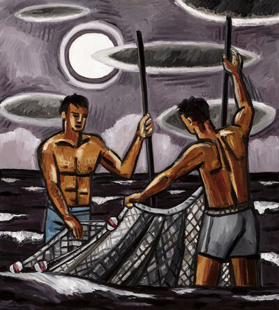 David Bates, 'Bait Fishing III', 2017