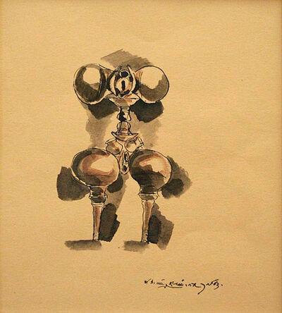 Laxma Goud, 'Untitled (Ceramic Series - 1)', 1983