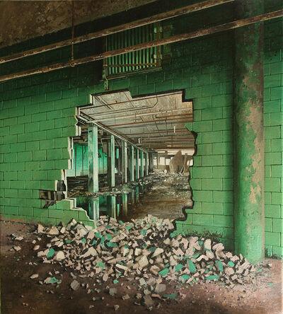 Jessica Hess, 'Green Crumbs', 2019