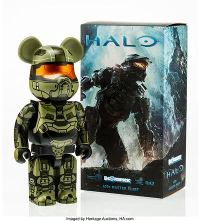 BE@RBRICK, 'Halo Master Chief 400%', 2014
