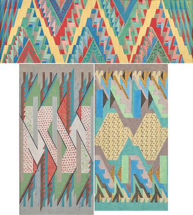 Lena Meyer-Bergner, 'Untitled (Textile Designs)', 1937
