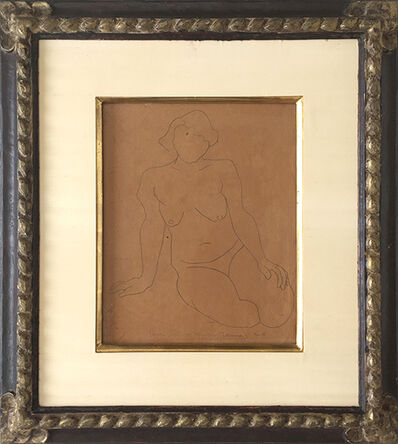 Rufino Tamayo, 'Nude Study', 1928