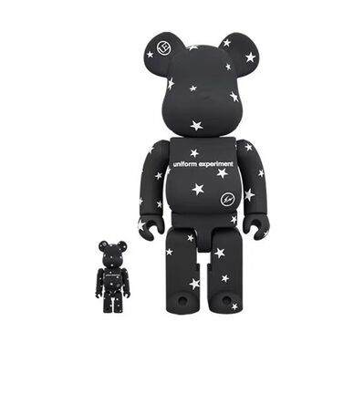 BE@RBRICK, 'BE@RBRICK UNIFORM EXPERIMENT 400% 100%', 2018