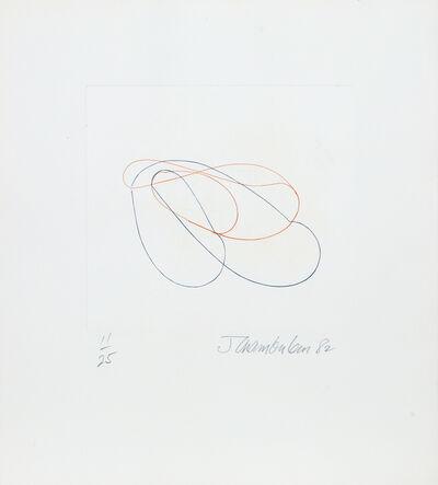 John Chamberlain, 'Linear Abstract 1', 1982