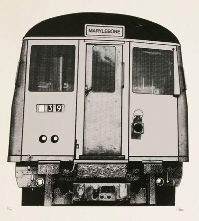 Gerd Winner, 'Tube Train', 1970