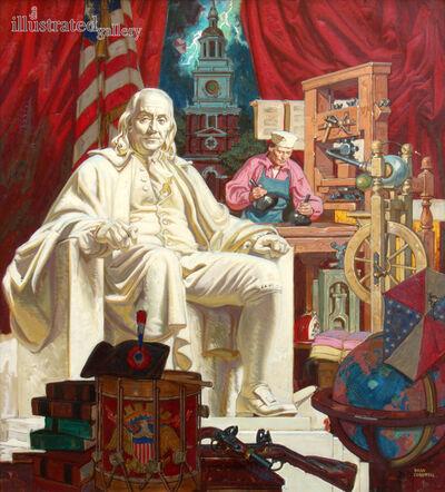 Dean Cornwell, 'Ben Franklin', 1950