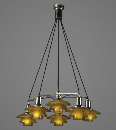 Poul Henningsen, 'A rare 'Star' ceiling light, with type 2/2 shades', 1931-37