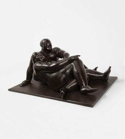 Fernando Botero, 'Amantes ', 1989
