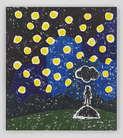 Olaf Breuning, 'Black Cloud', 2020