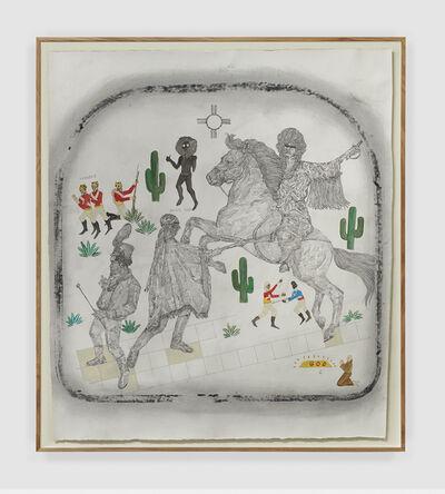 Umar Rashid (Frohawk Two Feathers), 'The Billie Jean Project #6: Sonoran Desert War', 2019