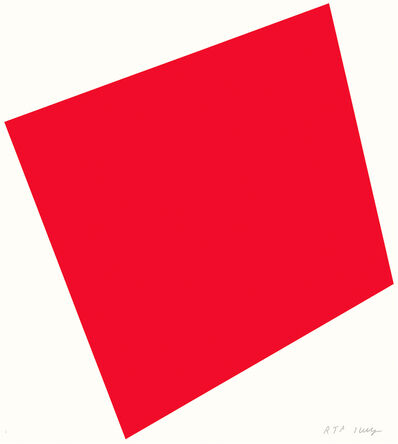 Ellsworth Kelly, 'Red', 2005
