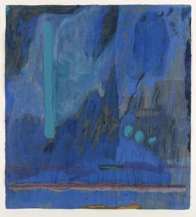 Helen Frankenthaler, 'Tales of Genji III (only sold as part of the complete suite of six woodcuts)', 1998