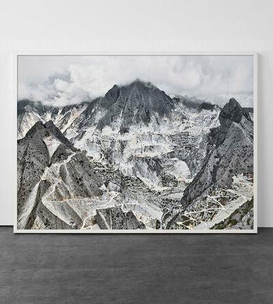 David Burdeny, 'Cava Bianco I, Carrara, Italy', 2018