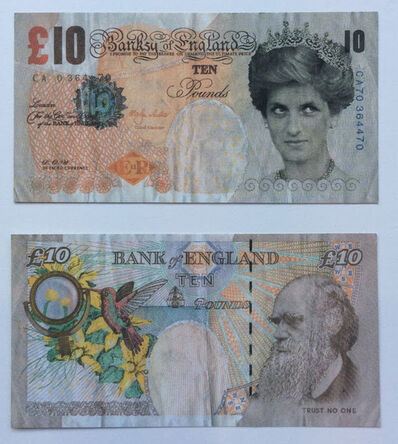 Banksy, 'Di-Faced Tenner', ca. 2004
